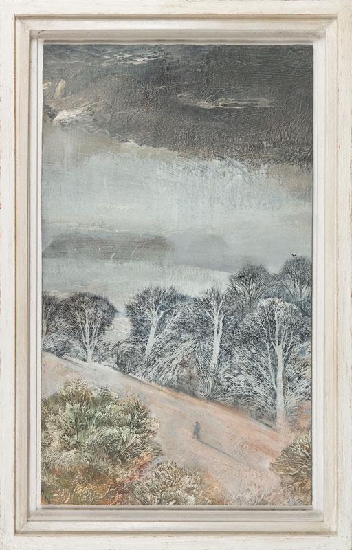 AYTOUN-ELLIS Mary Anne (b.1966) - 'Lobb walking'.