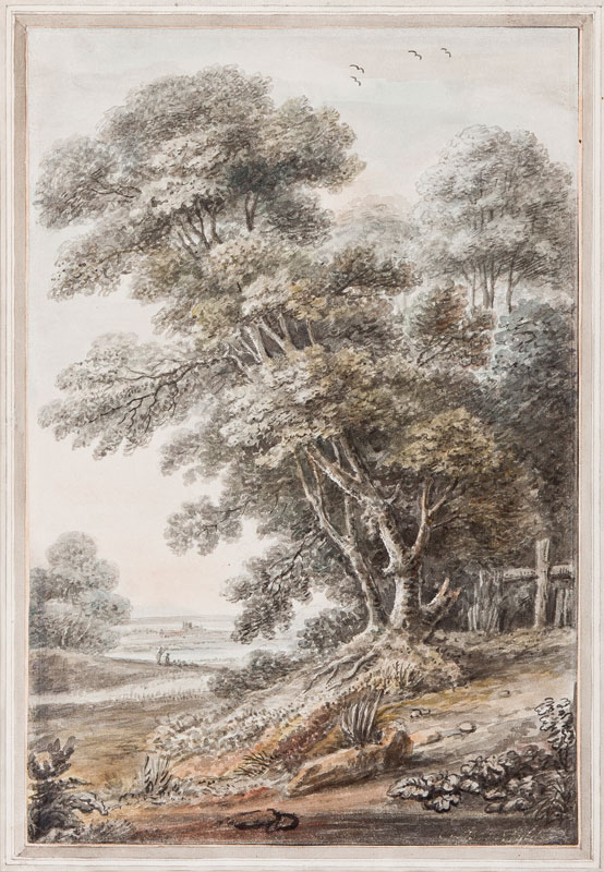 BAMPFYLDE Coplestone Warre (1720-1791) - Landscape.