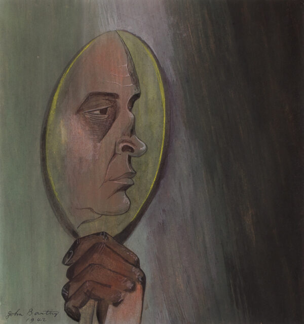 BANTING John (1902-1972) - Self-portrait.