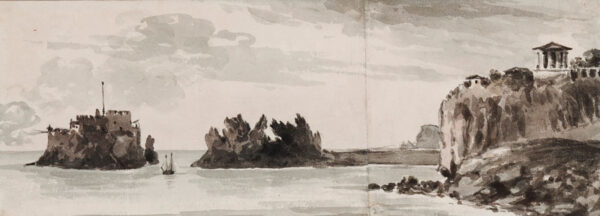 BARNARD Rev. William Henry (1769-1818) - The coast near Baiae.