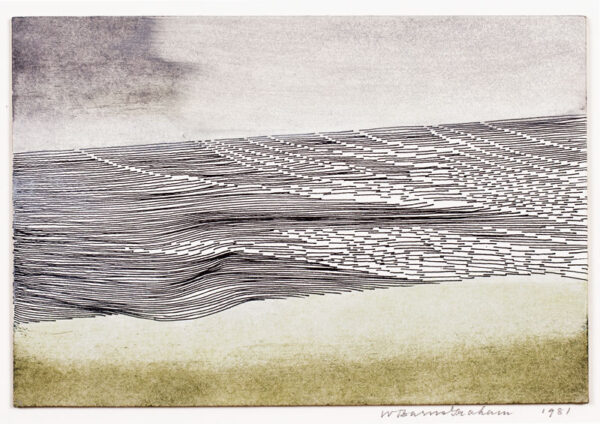 BARNS-GRAHAM Wilhelmina CBE (1912-2004) - 'Dialogue between sand and sea (Hayle)'.