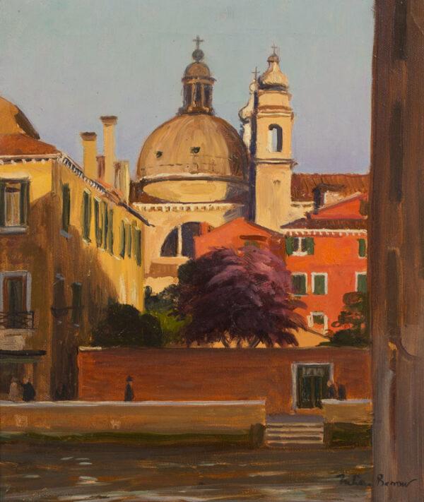 BARROW Julian (1939-2013) - 'Gesuati, Venice'.