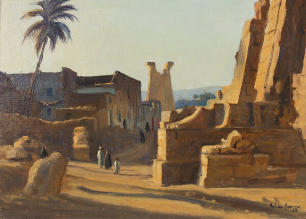 BARROW Julian (1939-2013) - 'Karnak'.