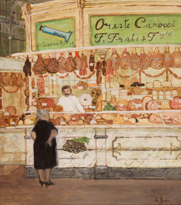 BEER Richard (1928-2017) - 'Oreste Carocci': Italian shop front.
