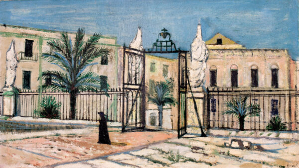 BEER Richard (1928-2017) - 'Piazza del Duomo, Cefalu'.