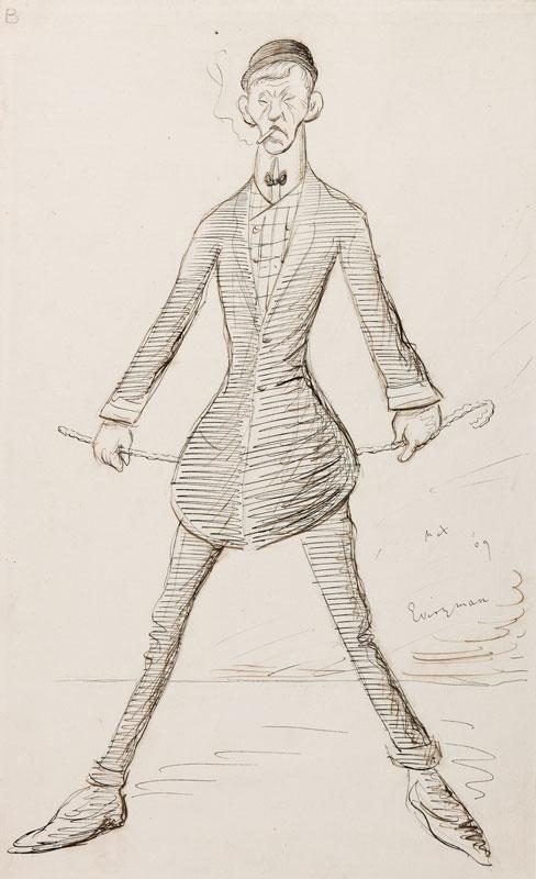 BEERBOHM Sir Max N.E.A.C (1872-1956) - 'Everyman'.