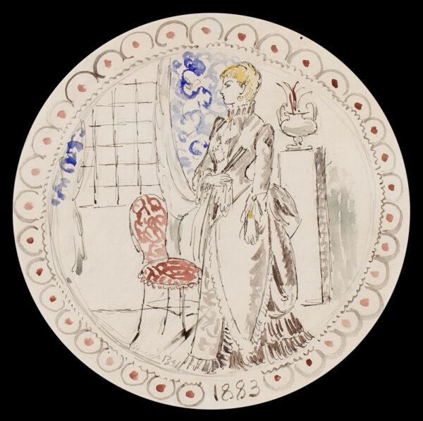 BELL Vanessa L.G. (1879 - 1961) - '1883'.