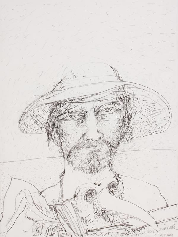 BELLANY John C.B.E. R.A. (1942-2013) - 'Ancient Mariner'.