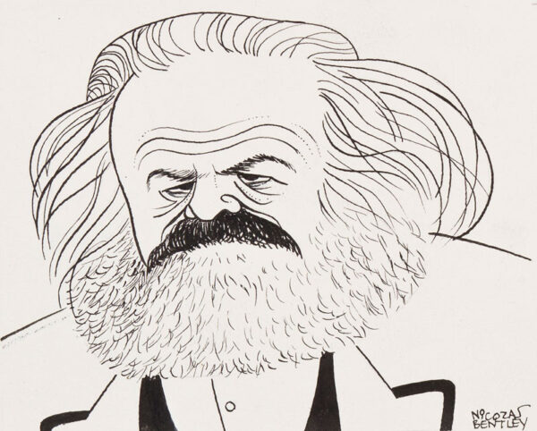 BENTLEY Nicolas (1907-1978) - 'Karl Marx'.