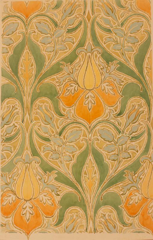 BIANCHINI-FERIER (Firm of) Founded 1888. - Art Nouveau fabric design.