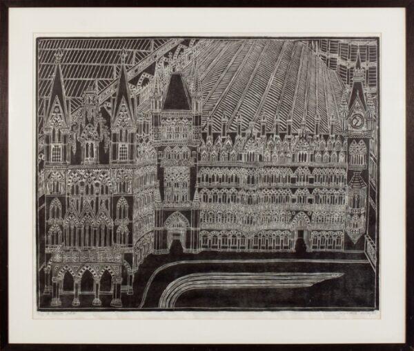 BILSON Caroline (Contemporary) - 'St Pancras Station'.