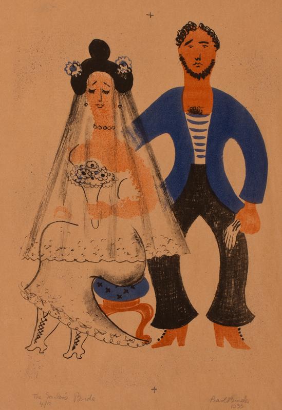 BINDER Pearl (1904-1990) - 'The Sailor's Bride'.