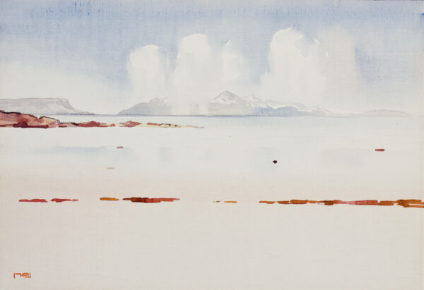 BIRD Mary Holden (1889-1978) - Scotland: 'Island Snow Storm'.