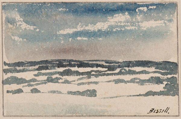 BISSILL George (1896-1973) - Hampshire under snow.