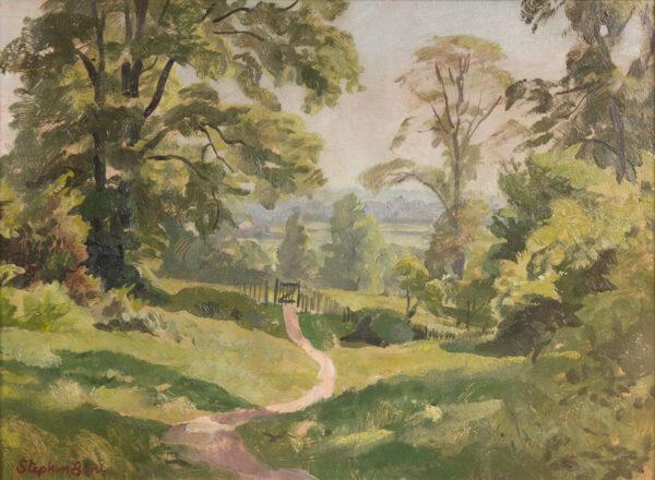 BONE Stephen N.E.A.C (1904-1958) - 'Midsummer, Berkshire'.