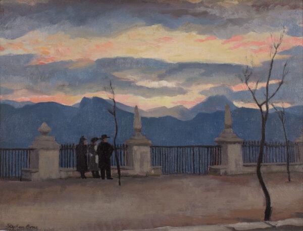 BONE Stephen N.E.A.C. (1904-1958) - 'Paseo de los Ingleses, Ronda'.