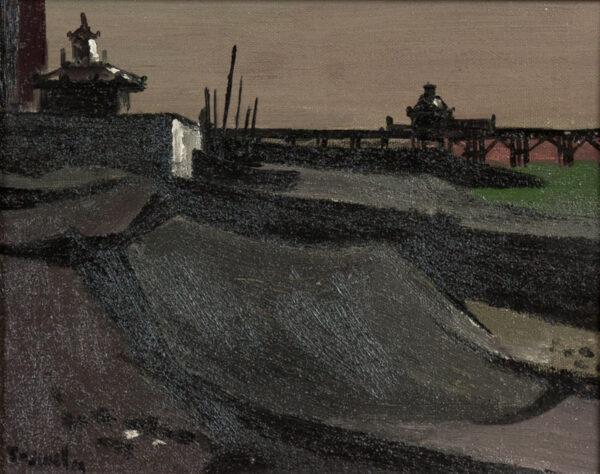 BOSWELL James (1906-1971) - 'Brighton Beach'.