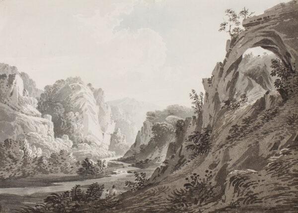 BOURNE Rev. James (1773-1854) - 'Dovedale', Derbyshire.