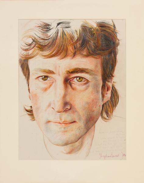 BOWER Stephen (fl.1980s) - 'John Lennon'.