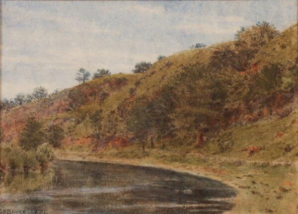 BOYCE George Price R.W.S. (1858-1911) - Shropshire.