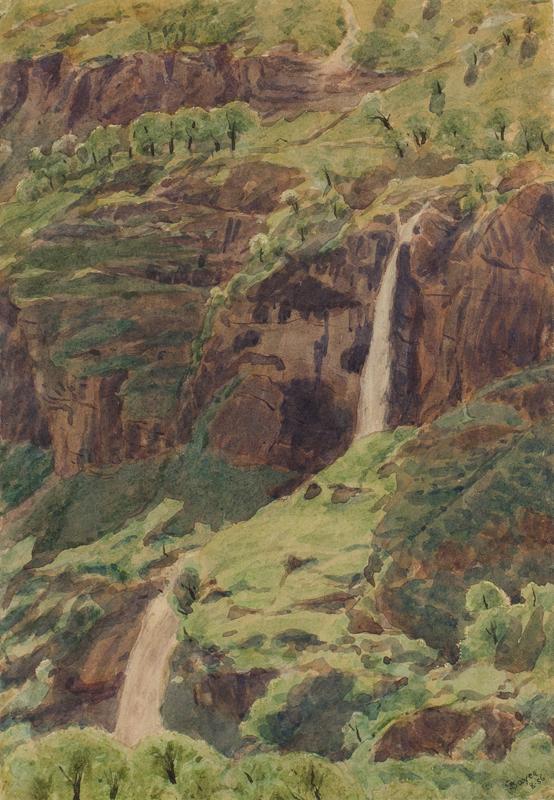BOYCE George Price R.W.S. (1858-1911) - Switzerland.