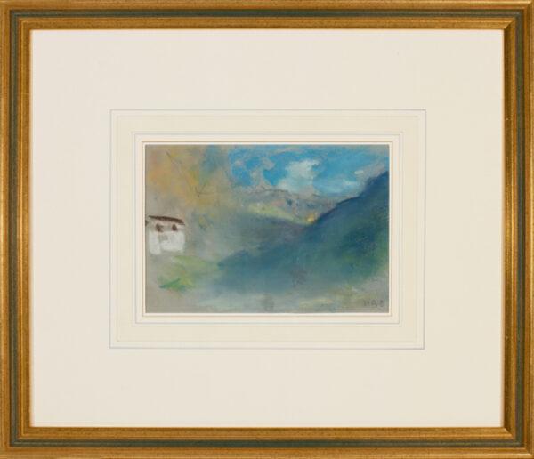 BRABAZON Hercules Brabazon N.E.A.C. (1821-1906) - Valley in Switzerland.