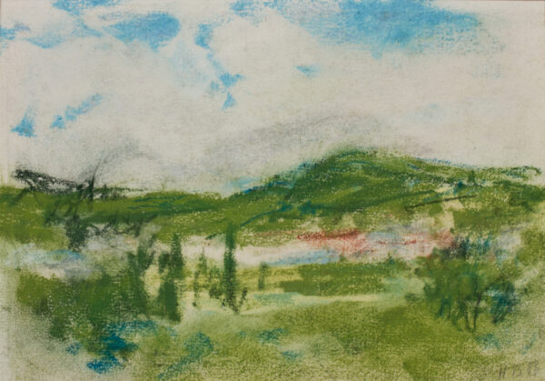 BRABAZON Hercules Brabazon N.E.A.C. (1821-1906) - Spring landscape.