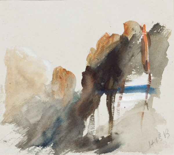 BRABAZON Hercules Brabazon N.E.A.C. (1821-1906) - Landscape study.