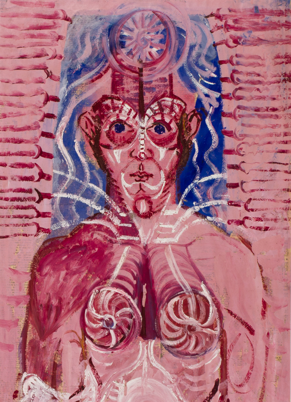 BRATBY John R.A. (1928-1992) - Mystical Figure.