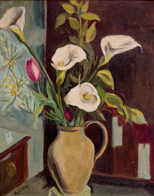 BRAY Phyllis (1911-1991) - 'Lillies'.