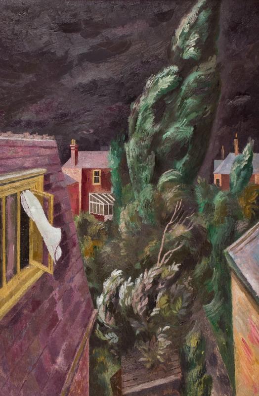 BRILL Reginald (1902-1974) - 'Nightmare'.