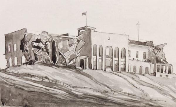 BRIMMELL Ronald Arthur Sub. Lieut. R.N.V.R. (1917-c.1993) - Libya.