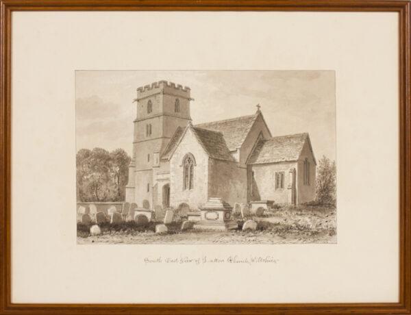 BUCKLER John F.S.A. (1770-1851) - Wiltshire; Latton.