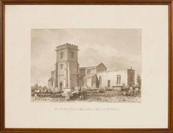 BUCKLER John F.S.A. (1770-1851) - Wiltshire; Chilseldon.
