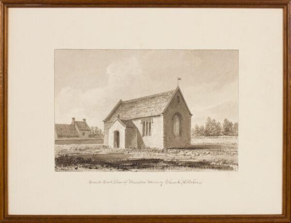 BUCKLER John F.S.A. (1770-1851) - Wiltshire; Marston Measy.