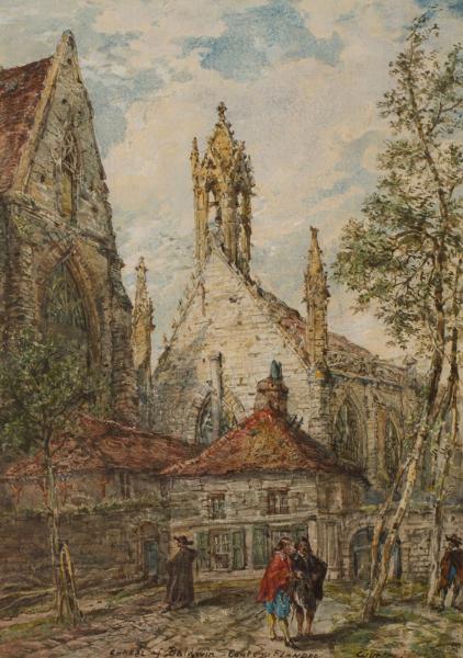 BURGESS John Jnr A.O.W.S. (1814-1874) - Belgium.
