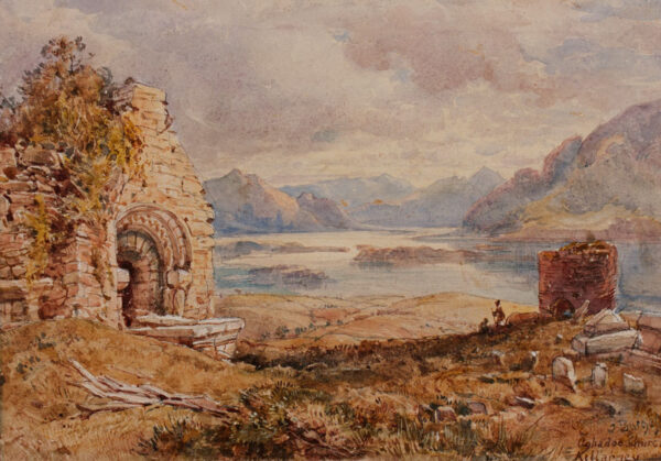 BURGESS John Jnr A.O.W.S. (1814-1874) - Ireland.