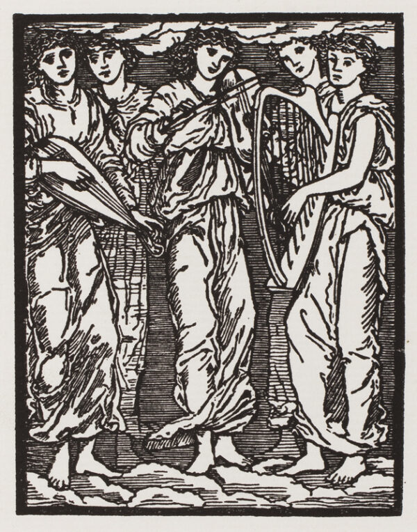 MORRIS William (1834-1896) (after Edward Burne-Jones) - 'The Musicians – The story of Cupid and Psyche'.