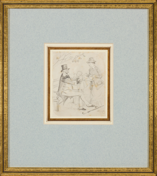 CALDECOTT Randolph (1846-1886) - The grandchild.