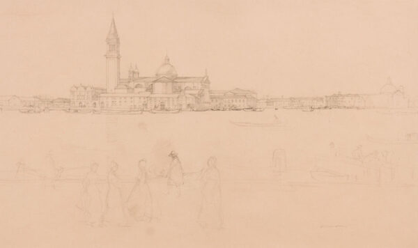 CAMERON Sir David Young R.A. R.E. R.S.A. R.W.S. (1865-1945) - Venice.