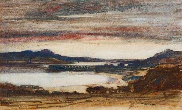 CAMERON Sir David Young R.A. R.E. R.S.A. R.W.S. (1865-1945) - Loch Linnhe.