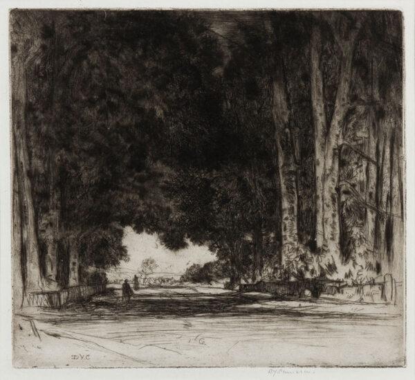 CAMERON Sir David Young R.A. R.E. R.S.A. R.W.S. (1865-1945) - 'The Avenue' (FR44).