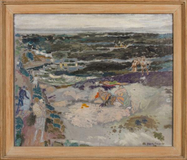 CAMP Jeffery R.A. (b.1923) - Pakefield Beach, Suffolk.