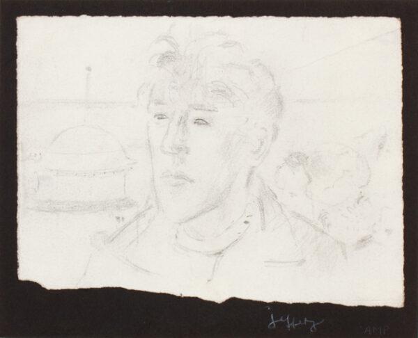 CAMP Jeffery R.A. (b.1923) - Head study.