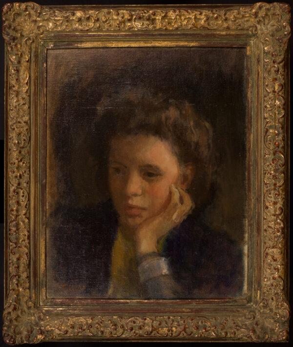CARR Tom R.W.S. R.U.A. (1909-1999) - 'Ruth Heenan'.