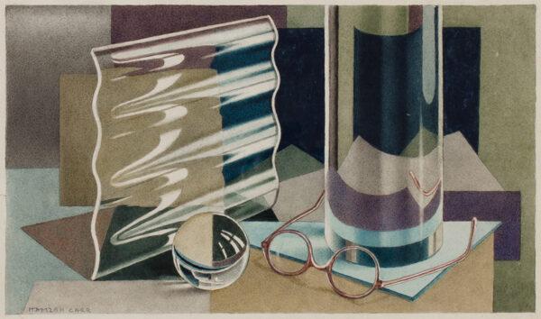 CARR Hamzah (fl.1930s) - 'Perspex'.