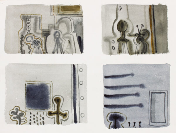 CARR David (1915-1968) - Man and Machine.