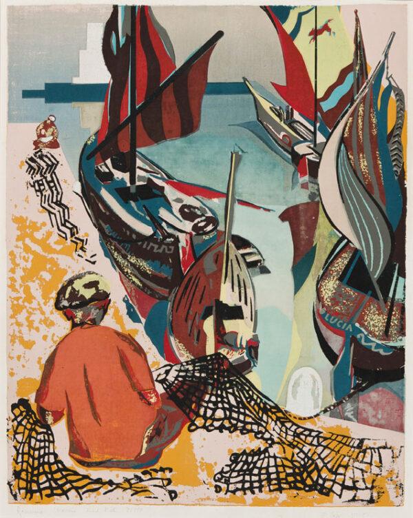 CARR Francis (1919--2013) - 'Ravenna Marina'.