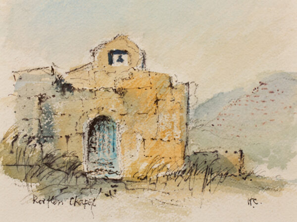 CASSON Sir Hugh P.R.A. C.H. (1910-1999) - 'Roofless Chapel'.