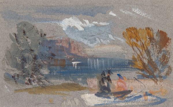 CATTERMOLE George R.W.S. (1800-1868) - Capriccio.